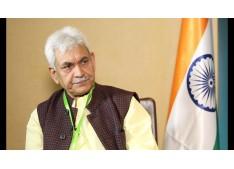 LG J&K Manoj Sinha thanks PM Modi for lifting of 9 Oxygen Plants from Munich & supply of Medicines