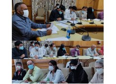 Div Com stresses on close monitoring of patients in home isolation