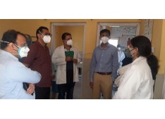 DC Jammu inspects Covid control measures, development activities in Pargwal, Marh and Kanahchak blocks