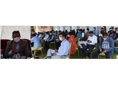 Advisor Baseer Khan visits Budgam amid 2nd Wave of COVID-19
