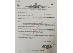 DC Kathua directs for release of TA in favour of Officials engaged in House to House verification