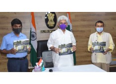 Lt Governor releases Pictorial e-Compendium of 1676 physically completed projects