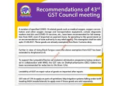 Govt exempts IGST on COVID related goods