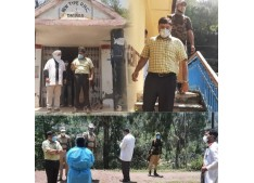 DC Poonch inspects vaccination sites, Panchayat level Covid Care Centres