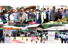 Navin Choudhary advocates for Organic Vegetable sale outlets in all districts of J&K