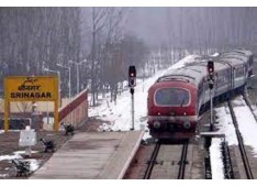 Train services in Kashmir to remain suspended till June 16