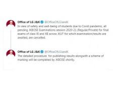 All JKBOSE Examinations session 2020-21 (Regular/Private) cancelled: LG Manoj Sinha