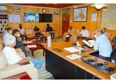DC Baramulla reviews progress of works executed under DDUGJY