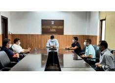 CCI Jammu Team call on DivCom; Raghav assures favourable decisions for Businesses