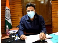Over 1 lac Covid-19 vaccine doses administered in the district: DC Kulgam