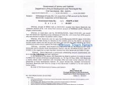 J&K Govt suspends 2 KAS Officers