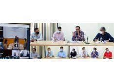 Saurabh Bhagat reviews arrangements for upcoming 2-day regional conference