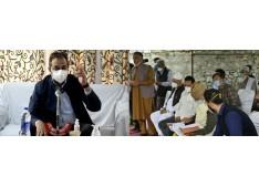 Advisor Baseer Khan visits Verinag, Dooru
