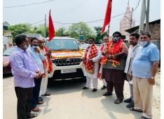 19th CHHARI MUBARAK YATRA flagged off by Adv Ishant Gupta