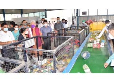 Lt Governor inaugurates JMC's Material Recovery facility at Bandurakh ; to achieve 100% recovery from the dry waste