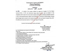 J&K Govt issues notification for remission of duty for Industrial units