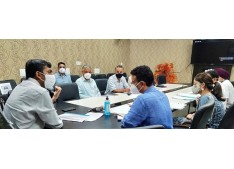 DC Jammu directs concerned officials to complete the projects within the given time frame