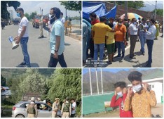 People found not wearing Mask in Public Places can face FIR: Srinagar Admin