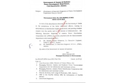 J&K Govt attaches 2 Executive Engineers
