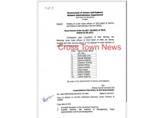 J&K Govt posts 10 JKAS Officers in Ladakh UT