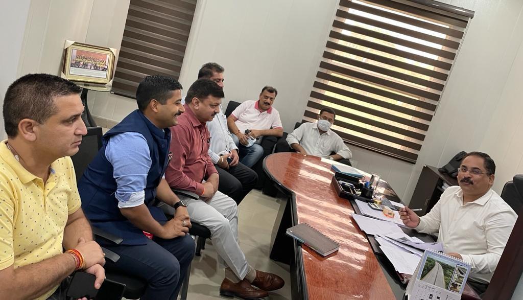 Jammu  CCI resents NHAI's anti-encroachment drive