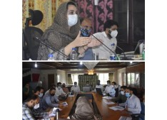 Dr Sehrish directs officials to create awareness about the PMFME scheme among the SHGs
