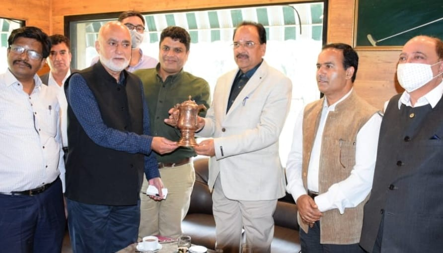 Union Minister of State for Defence, Tourism reviews Tourism landscape of J&K