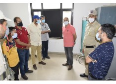DC takes stock of health care facilities in District Hospital Ramban