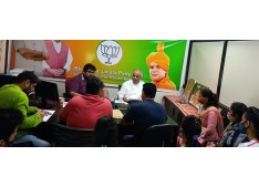 Ashok Koul chalks out strategy with BJP J&K IT Dept for upcoming assembly elections in J&K