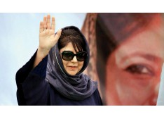 Why talk about Taliban , Why not about farmers, corruption in India? : Mehbooba Mufti