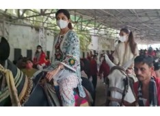 Bollywood Actress Shilpa Shetty visits Shri Mata Vaishno Devi Bhawan