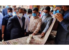 Kashmir craft has worldwide reach and the Government is committed to promote it: Advisor Baseer Khan