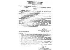 JK Govt issues Seniority list of 1624 Headmasters &  282 PG Masters/Teachers