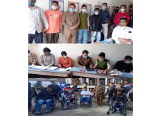 DC Anantnag Piyush Singla interacts with various specially abled student