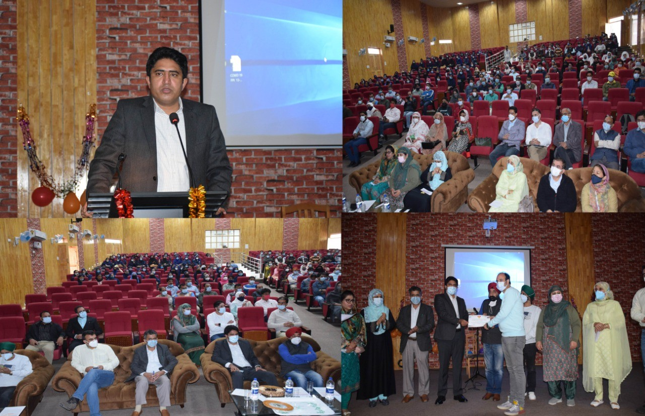 Keep on working with same intensity: DC Pulwama to Doctors