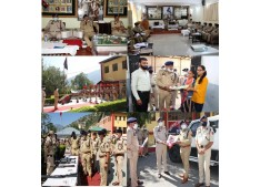 Dr Sunil stresses upon police officers to develop good relations with public & take strict action against violators/criminals