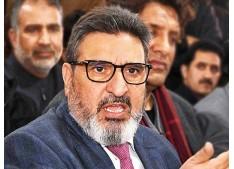 To install confidence among J&K people, immediate restoration of statehood is the need: Altaf Bukhari